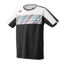 Yonex Crew Neck T-Shirt (Men's) - Black