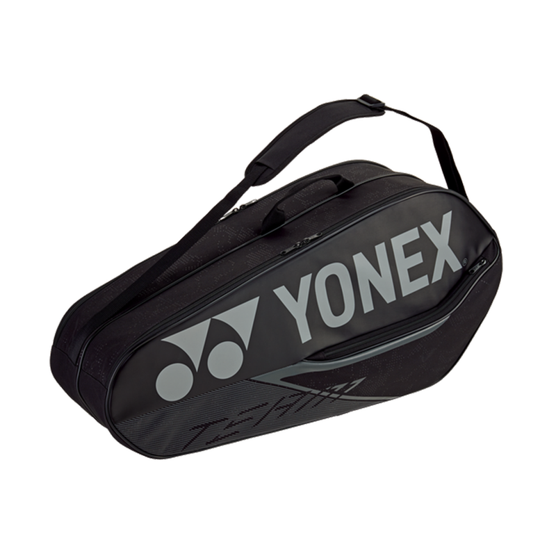 Yonex Team Racquet 6-Pack Bag - Black