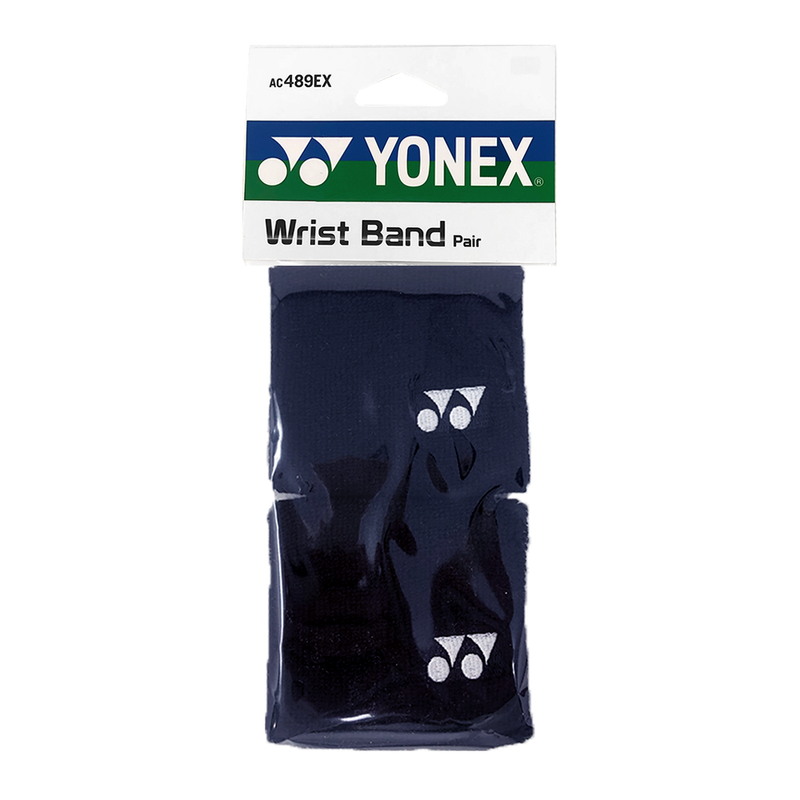 Yonex Tennis Wristband (2 Pack) - Navy Blue