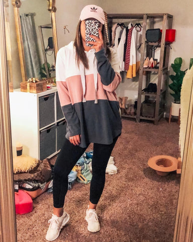 Blooming Jelly Women's Oversized Hoodie