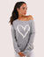 Blooming Jelly_Heart Print Drop Shoulder Sweatshirt_Gray_155163_07_Women Fashion Outdoor Wear_Tops_Sweatshirt
