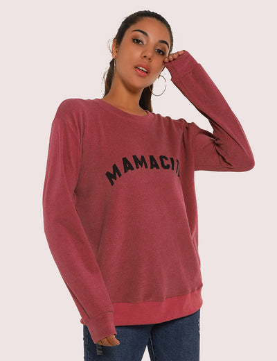 Blooming Jelly_Letter Print Long Sleeve Pullover Sweatshirt_Age Doesn't Matter Print_303057_23_Women Loose Outdoor_Tops_Sweatshirt