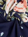 Blooming Jelly Chic Women Floral Print Long Wrap Dress_142358_Navy_Details 8