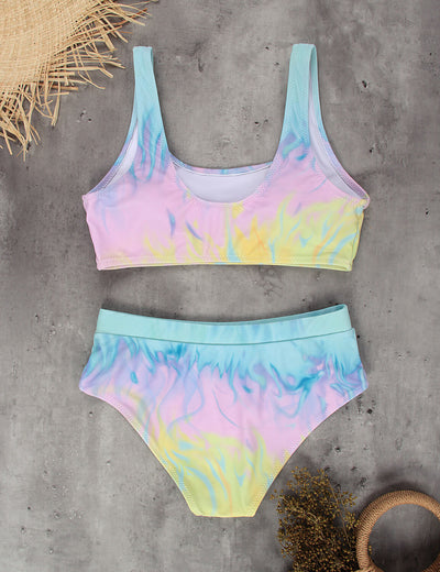 The Crush Tie Dye Bikini Set