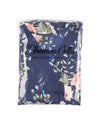 Blooming Jelly Chic Women Floral Print Long Wrap Dress_142358_Navy_Package