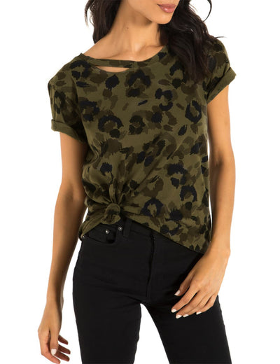 Blooming Jelly_Cutout Hole Side Knot Camo Print T-Shirt_Camo Print_152662_10_Women Summer Streetwear Fashion_Tops_T-Shirt