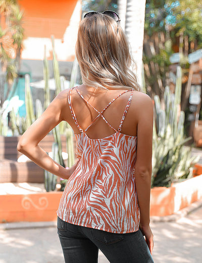 Blooming Jelly_Wilding Urban Loose Fit Zebra Print Cami Top_Light Coral_155292_29_WomenCasual Outfits Wearing_Tops_Cami Tops