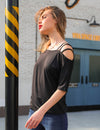 One Shoulder Lady Blouse