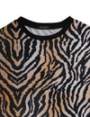 City Girl Animal Print Loose T-Shirt
