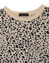 Chic Leopard Print Loose T-shirt