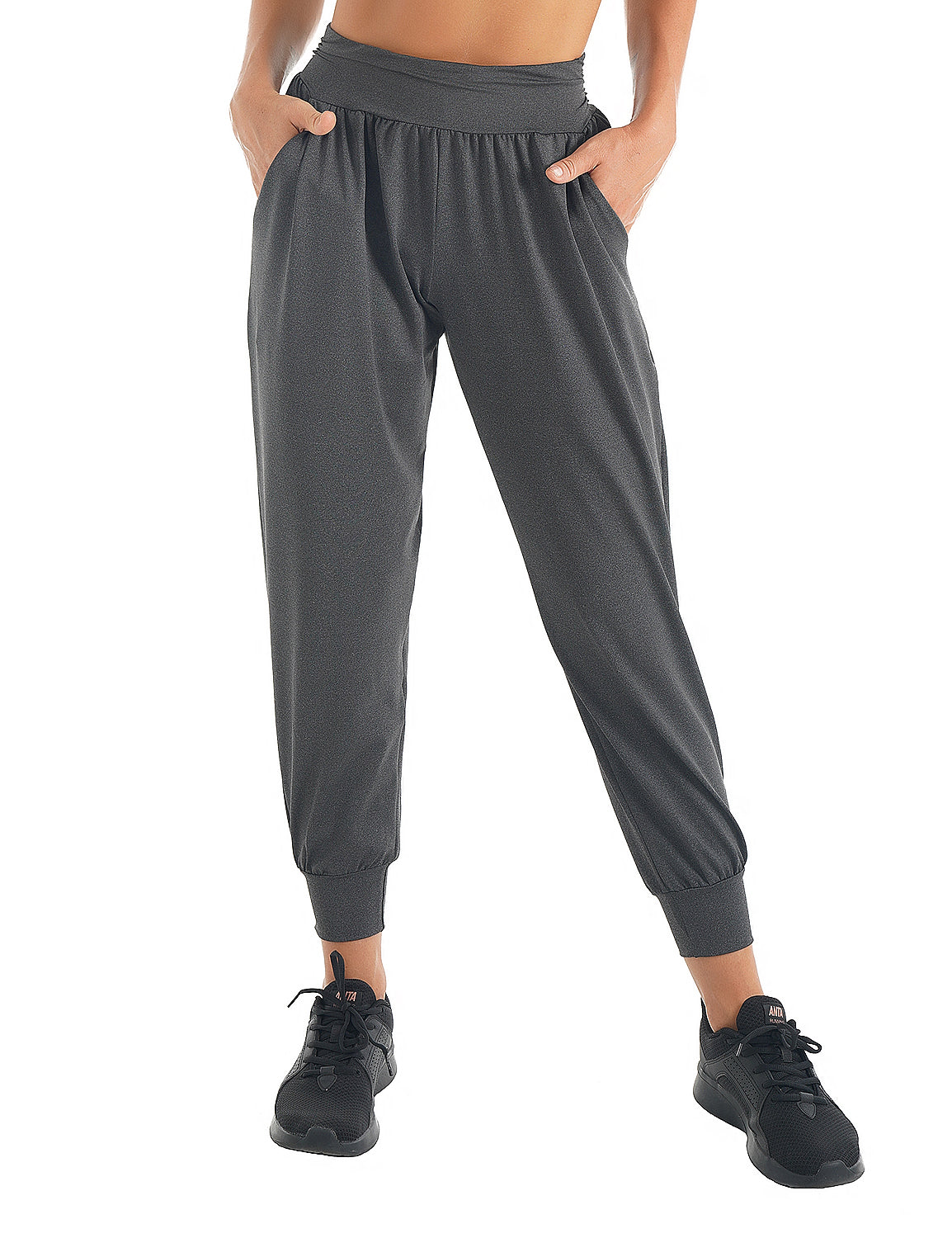 Blooming Jelly_Casual Sweatpants Loose Joggers_Black_255096_02_Women Athletic Comfy Outfits_Bottoms_Joggers