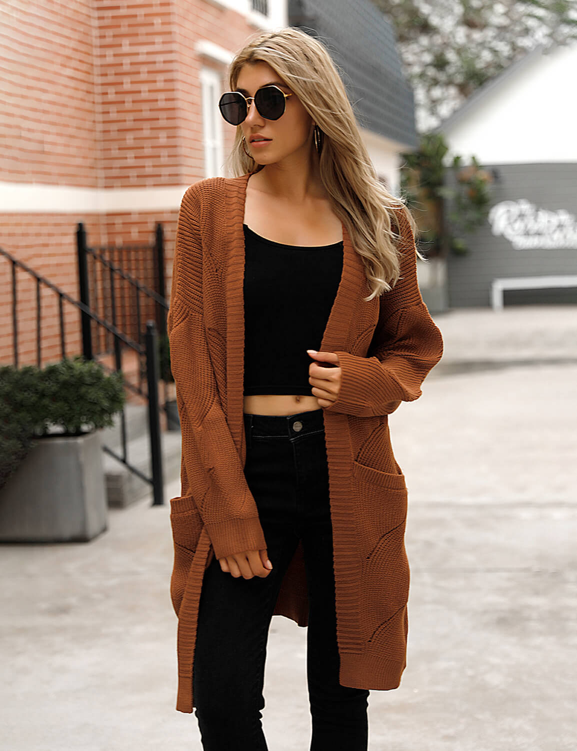 Blooming Jelly_Graceful Warm Cardigan Sweater_Brown_292070_32_Women Casual Street Wear_Tops_Cardigan
