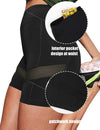 Blooming Jelly_Mesh Patchwork High Waisted Biker Shorts_Black_252147_02_Women Athletic Comfy Outfits_Bottoms_Shorts