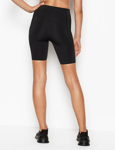 Blooming Jelly_Athletic High Waisted Stretchy Biker Shorts_Black_253079_02_Women Athletic High Elascity Workout_Bottoms_Shorts