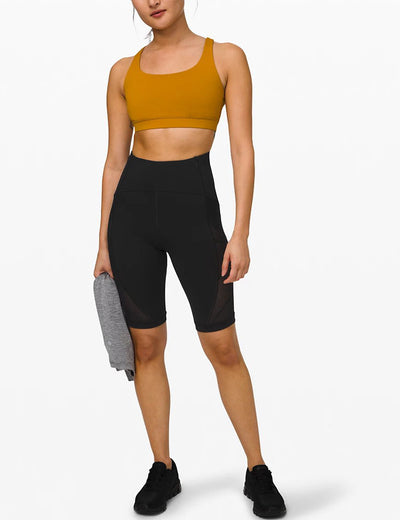 Blooming Jelly_High Waist Fit Training Biker Shorts_Black_255009_02_Women Sportswear Gym Clothes_Bottoms_Shorts