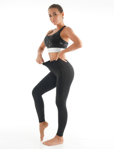 Blooming Jelly_High Waisted Mesh Workout Leggings_Black_255105_02_Women Athletic Comfy Outfits_Bottoms_Leggings