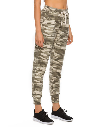 Blooming Jelly_Active Camo Print Pockets Joggers Drastring Sweatpants_Camo Print_257009_28_Women Outdoor Sports_Bottoms_Sweatpants