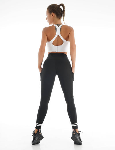 Blooming Jelly_Workout Training Fitness Leggings_Black_257210_02_Women Athletic Comfy Outfits_Bottoms_Leggings