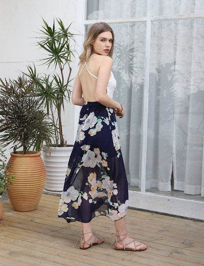 Blooming Jelly_Stunning Summer Asymmetrical Floral Maxi Dress_Floral Print_140730_19_Glamorous Summer Outdoor_Dress_Maxi Dress