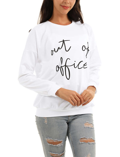 Blooming Jelly_Out Of Office Letter Print Sweatshirt_Letter Print_302025_19_Cozy Women Autumn&Winter Wear_Tops_Sweatshirt