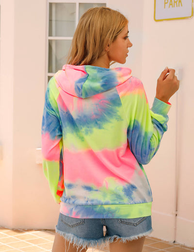 Blooming Jelly_Cool Girl Tie Dye Hoodie_Tie Dye Print_303077_21_Stylish Women Casual Outfits_Tops_Hoodie