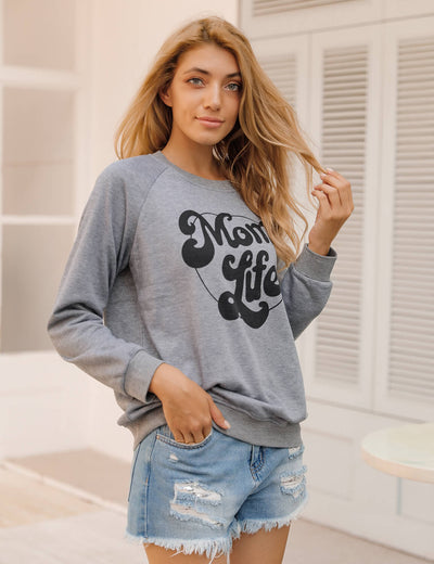 Blooming Jelly_Chic Mom Life Sweatshirt_Letter Print_303083_07_Mom Style Casual Outfits_Tops_Sweatshirt