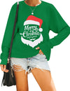 Christmas Style Mama Bear Santa Sweatshirt - Blooming Jelly