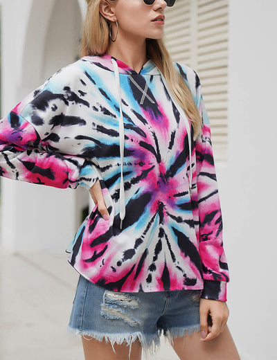 Blooming Jelly_Casual Oversized Tie Dye Hoodie_Tie Dye Print_304013_51_Street Style Women Fashion Outfits_Tops_Hoodie