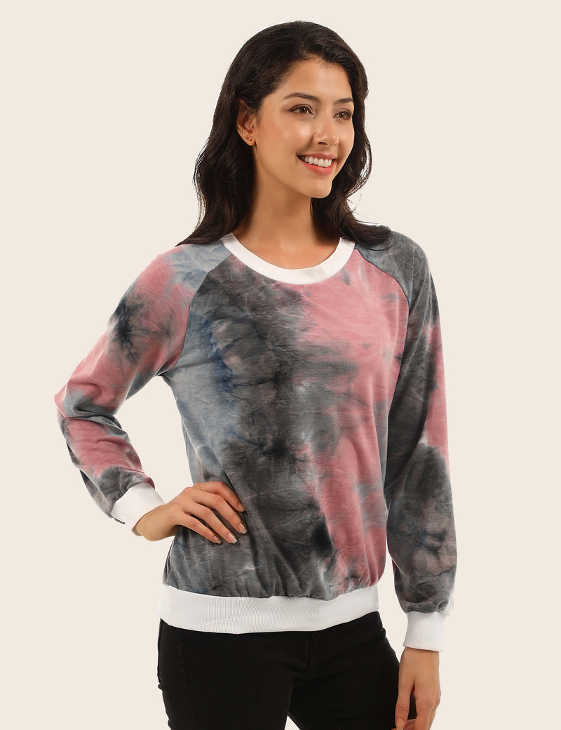 Show Off Your Personality Tie Dye Sweatshirt - Blooming Jelly