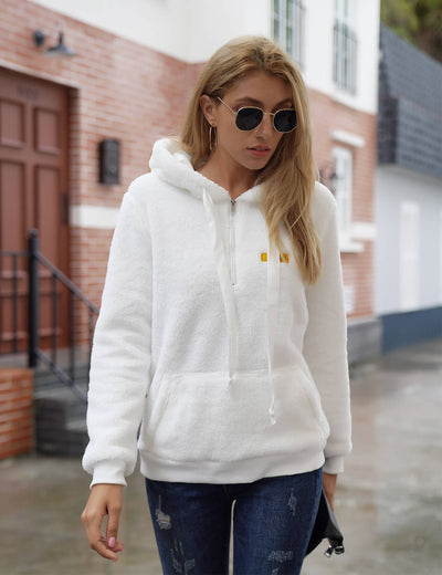 Blooming Jelly_Warm Day Fuzzy Chunky Hoodie_White_307015_19_Women Autumn&Winter Casual Outfits_Tops_Hoodie