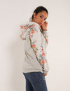 Blooming Jelly_Drawstring Floral Patchwork Casual Hoodie_Floral Print_306273_07_Women Elegant Outdoor Pullover_Tops_Hoodie