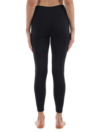 Blooming Jelly_Side Cut Out High Waist Yoga Leggings_Side Hollow Out_257007_02_Women Indoor&Outdoor Sportswear_Bottoms_Leggings
