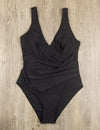 Blooming Jelly_La La Summer Beach Tummy Control One Piece Swimsuit_Black_112034_02_Sexy U Back Tummy Control_Swimsuit One Piece