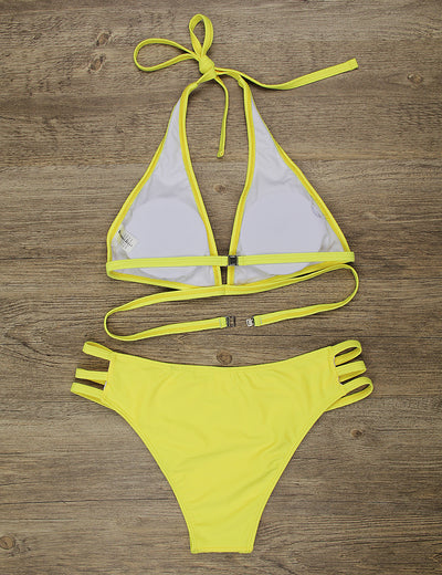 Dream Vacation Sexy Halter Bikini Set