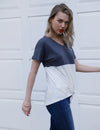 Contrast Color Soft T-shirt