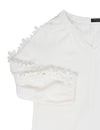 Blooming Jelly_Pure Color Hollow Out Floral Sleeve Blouse_White Lace_156263_19_Elegant Solid Color Women Daily Wear_Tops_Blouse