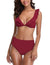 Blooming Jelly_Summer Beats Ruffle Shoulder Bikini Set_Dark Red_113010_27_Summer V Neck Ruffled_Swimsuit Bikini Set