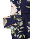 Blooming Jelly Chic Women Floral Print Long Wrap Dress_142358_Navy_Details 6
