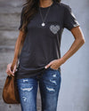 Chic Leopard Pocket T-Shirt