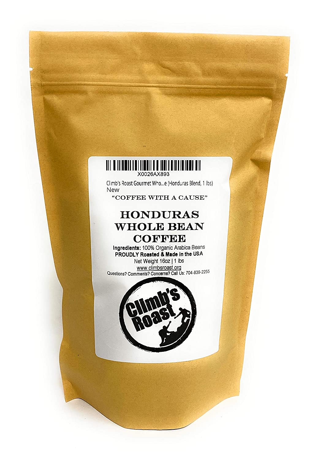 Climb's Roast Small Batch Gourmet Whole Bean Roasted Coffee