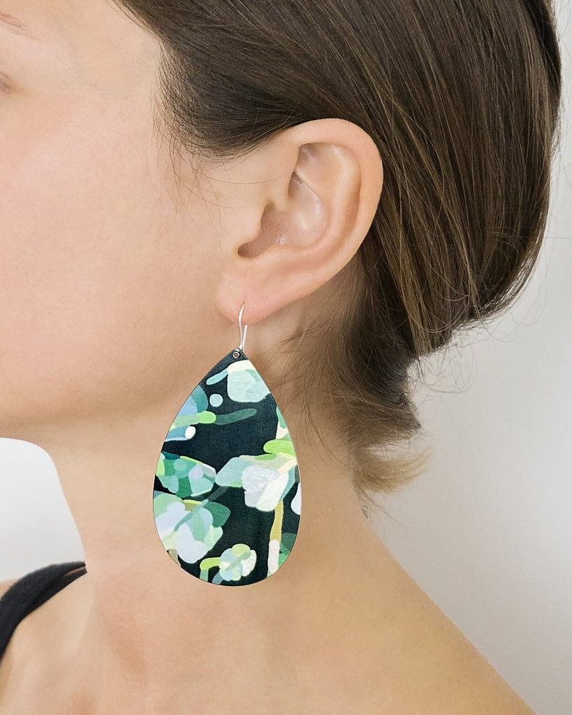 Jungle Kimmy Big Tear Drop Earrings