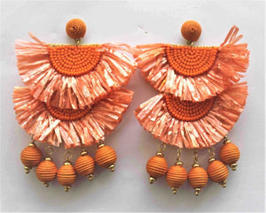 Salza Earring - Orange