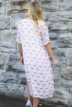 Load image into Gallery viewer, Filomena Flamingo Kimono