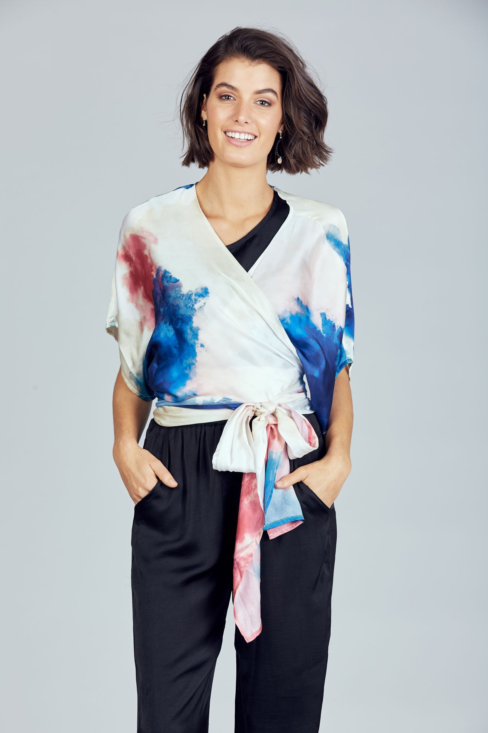 Destiny Wrap Top