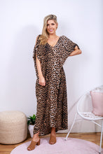 Load image into Gallery viewer, Leopard Knot Kaftan