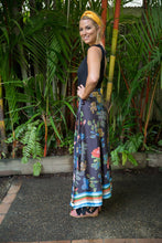 Load image into Gallery viewer, TAHITIAN WRAP SKIRT - BAHAMA PRINT