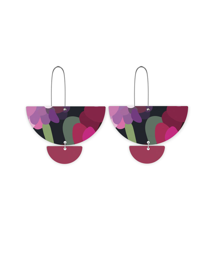 Bloom Kimmy Statement Long Drop Earrings