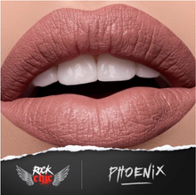 Load image into Gallery viewer, ROCK CHIC Liquid Lipstick - 'PHOENIX'