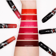 Load image into Gallery viewer, ROCK CHIC Liquid Lipstick - 'CHERRYWOOD'