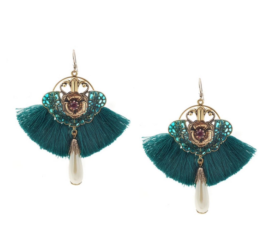 Emerald City Statement Earring